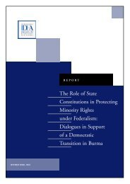 The Role of State Constitutions in Protecting ... - International IDEA