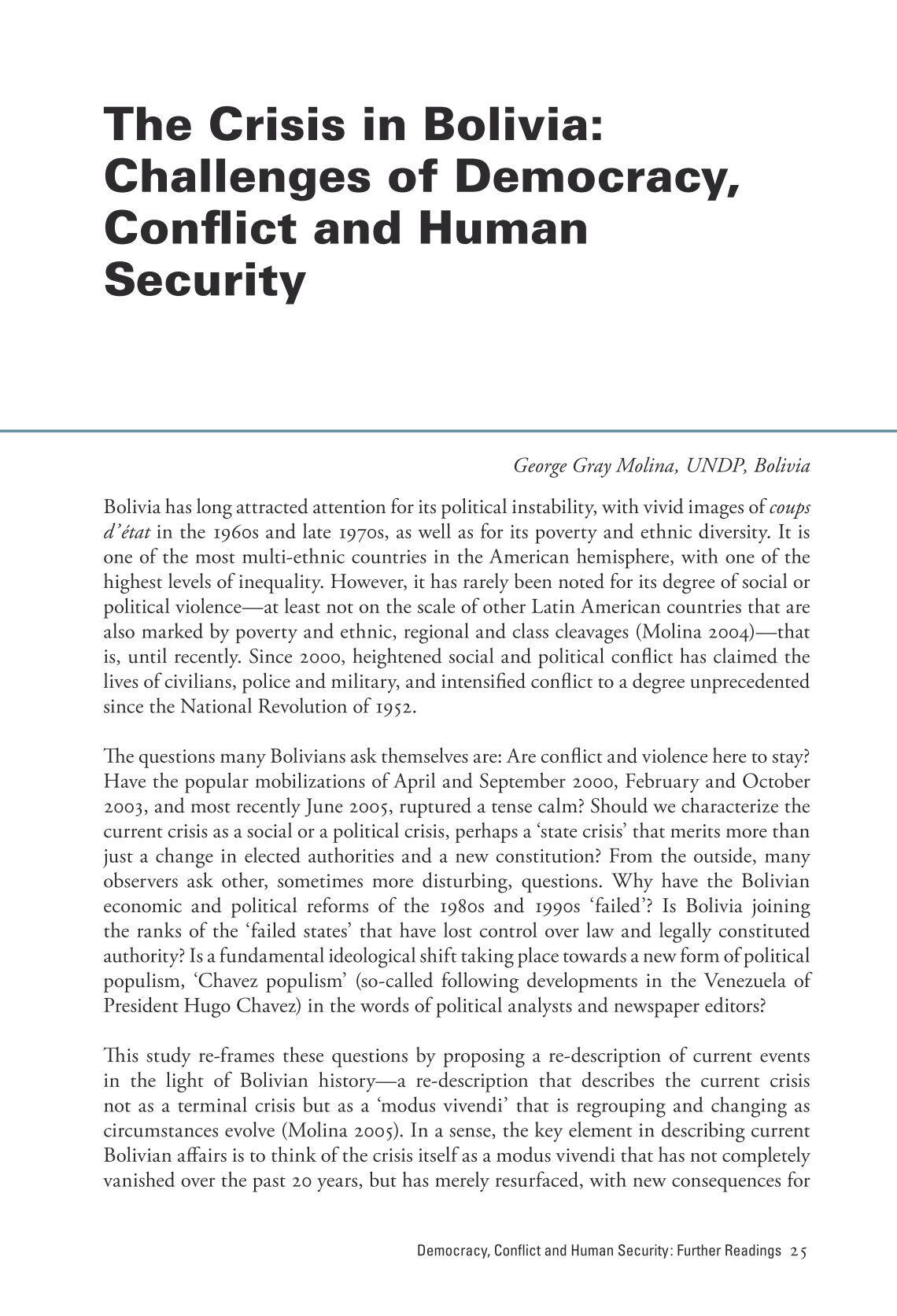 Politics of Bolivia