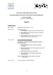 Agenda - International IDEA
