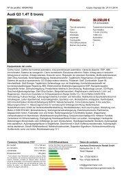 Audi Q3 1.4TS tronic Precio - Autohaus Gerstenmaier