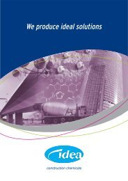 We produce ideal solutions