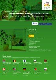 rakennusten energiatodistusten - Ideal-EPBD