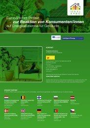 zur Reaktion von Konsumenten/innen - Ideal-EPBD
