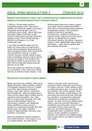IDEAL EPBD Newsletter 3 CZE