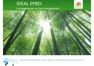 Ideal EPBD workshop 31 mei 2011