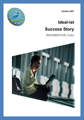 Ideal-ist Success Story: Indiamentor (PDF, 1.206KB)