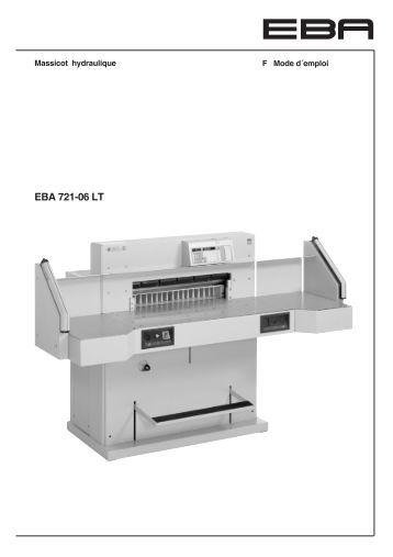 eba manual Sem's operator manuals can be found here.
