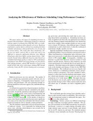 Analyzing the Effectiveness of Multicore Scheduling Using ...