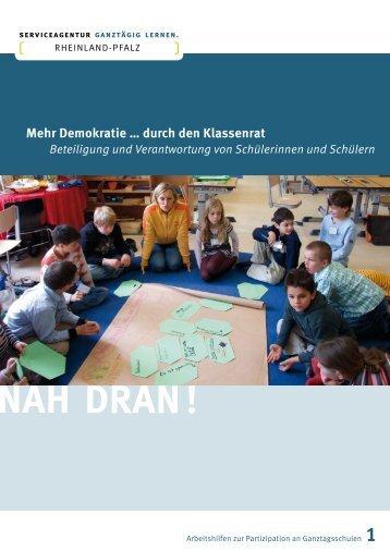 Mehr Demokratie … durch den Klassenrat - Demokratie lernen und ...