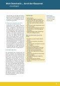 Mehr Demokratie … durch den Klassenrat - Demokratie lernen und ... - Seite 5