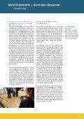 Mehr Demokratie … durch den Klassenrat - Demokratie lernen und ... - Seite 7