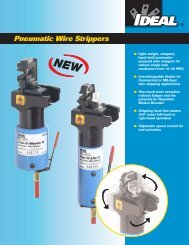 Pneumatic Wire Strippers - Ideal Industries Inc.