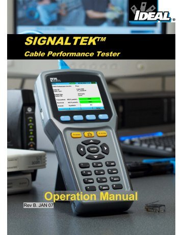 SIGNALTEK™ Instructions - Ideal Industries Inc.