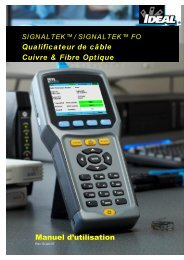 SIGNALTEK Users Guide V2.0 French_Final. - Ideal Industries Inc.