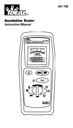 Insulation Tester - Ideal Industries Inc.