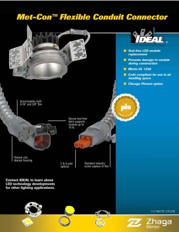 Metal Flex Enclosure Brochure - Ideal Industries Inc.