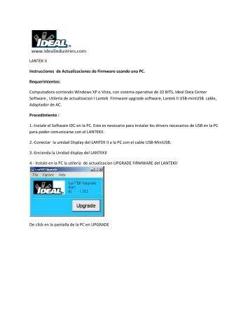 Instrucciones De Actualizacion De Firmware R4 » unrestawhi gq