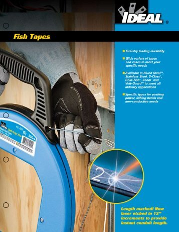 Fish Tapes Catalog and Selection Guide - Ideal Industries Inc.