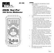 IDEAL Test Pro® - Ideal Industries Inc.