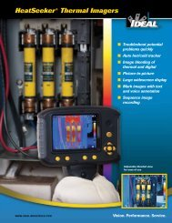 HeatSeeker® Pro Thermal Imager Brochure - Ideal Industries Inc.