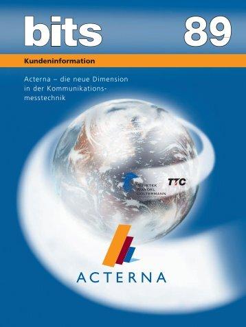 Acterna - Ideal Industries Inc.