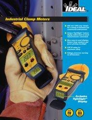 Industrial Clamp Meters - Ideal Industries Inc.
