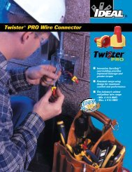 Twister® PRO Wire Connector - Ideal Industries Inc.