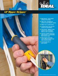 45-025 Lil' Ripper Brochure - Ideal Industries Inc.