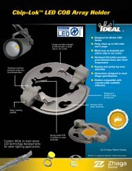 Nichia Chip-Lok™ LED COB Array Holder Brochure