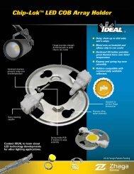 Chip-Lok™ LED COB Array Holder Brochure - Ideal Industries Inc.
