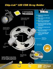Citizen Chip-Lok™ LED COB Array Holder Brochure