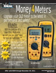 Upgrade your OLD meter to the latest in performance and safety!