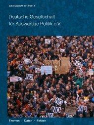 Jahresbericht 2012/13 (PDF 2.52 MB) - Deutsche Gesellschaft für ...