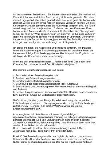 31.01 Entscheidungen (PDF) Pfr. Heiko Bräuning