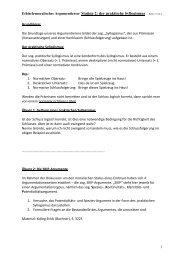 Ethisch-moralisches Argumentieren- Station 2: der praktische ...