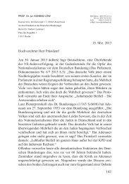 Einspruch von Prof. Dr. Konrad Löw - Das Deutschland Journal