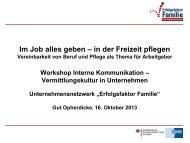 Anne Dreysel, Unternehmensnetzwerk Erfolgsfaktor ... - Kreis Unna