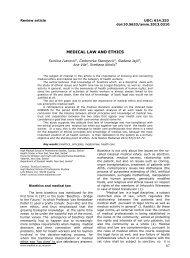 ORIGINALNI NAUÄŒNI RADOVI - Acta Medica Medianae
