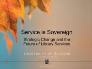 Service Turn - ideals - University of Illinois at Urbana-Champaign