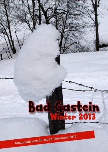 Badgastein-Winter 2013