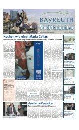 Amtsblatt Nr. 02/09 vom 30. Januar 2009 - Stadt Bayreuth