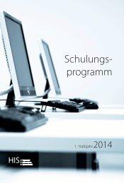 Schulungsprogramm 1|2014 - Hochschul-Informations-System GmbH