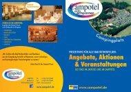 Angebote, Aktionen & Veranstaltungen - Campotel
