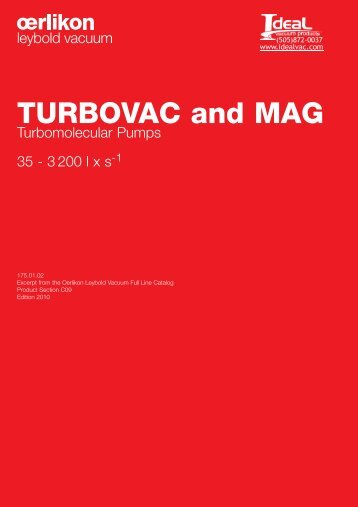 Turbovac and mag - Ideal Vacuum Products