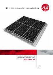 K2 MultiRail40 - K2 Systems