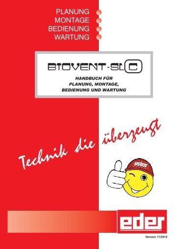 Bedienungsanleitung Biovent SLC - Eder