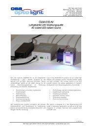 OSA Opto Light GmbH - Farnell