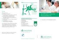 Weiterbildung zum Praxisanleiter - Asklepios