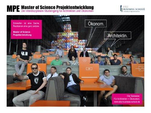 Master of Science (M.Sc.) - EBZ Business School
