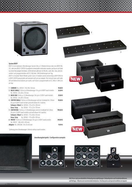 Uhrenbeweger Modul-System Watch Winder Module ... - Beco Technic